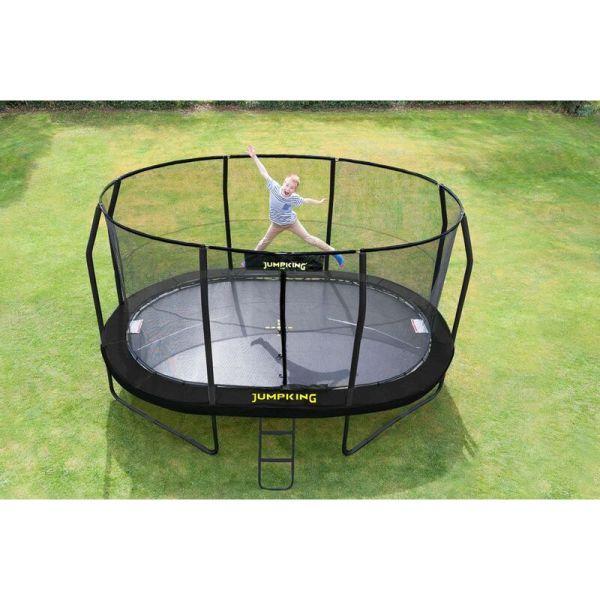 10ft X 15ft Oval Jumppod Trampoline - Jpo1015g16