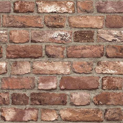3d brick effect wallpaper