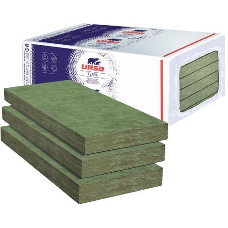 6 Paquets De 6 Panneaux Laine De Verre Ursa Pnu 32 Terra Ep 101mm 29 16m R 3 15