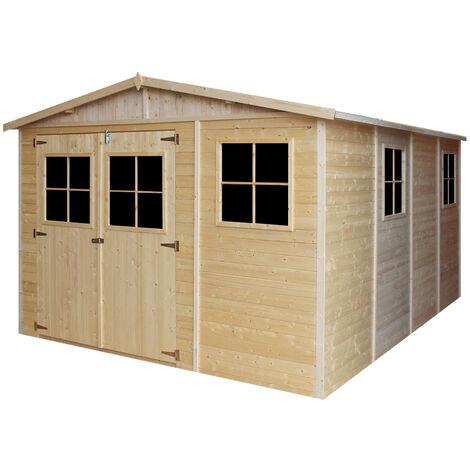 cabane de jardin 12m2 a prix mini