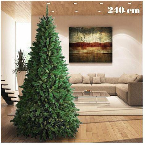 Acquista online gli alberi di natale e le decorazioni natalizie. Albero Natale 240 Cm Al Miglior Prezzo