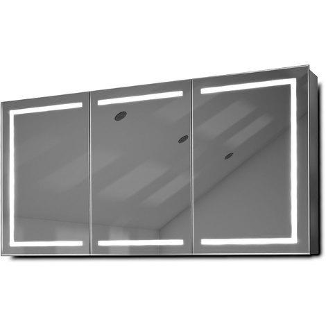 armoire de toilette miroir 120 cm