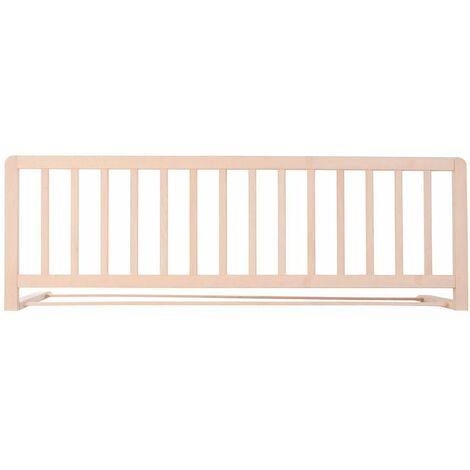 barriere de lit 122cm finition bois
