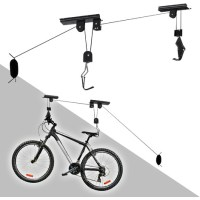 Ceiling Bike Storage Lift 20kg Bicycle Hang Mount Garage ...