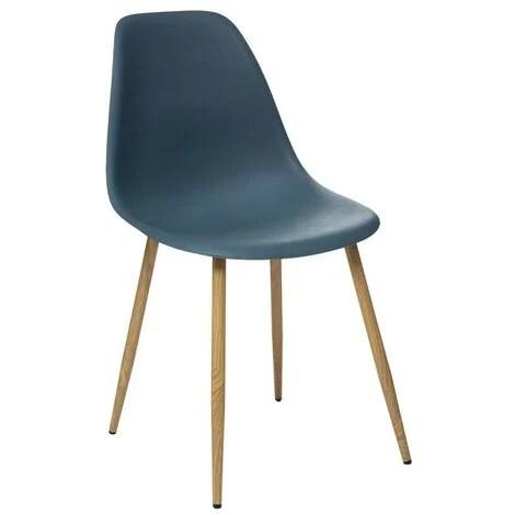 chaise scandinave bleu a prix mini