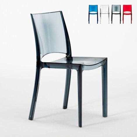 chaise transparente a prix mini