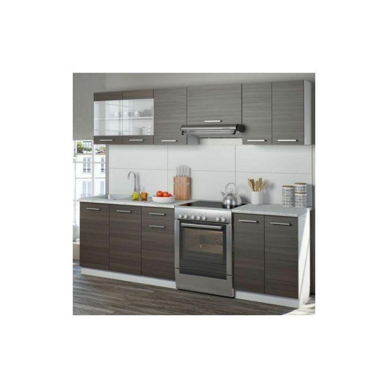 Cucina moderna componibile completa pensili cucina 7 pezzi
