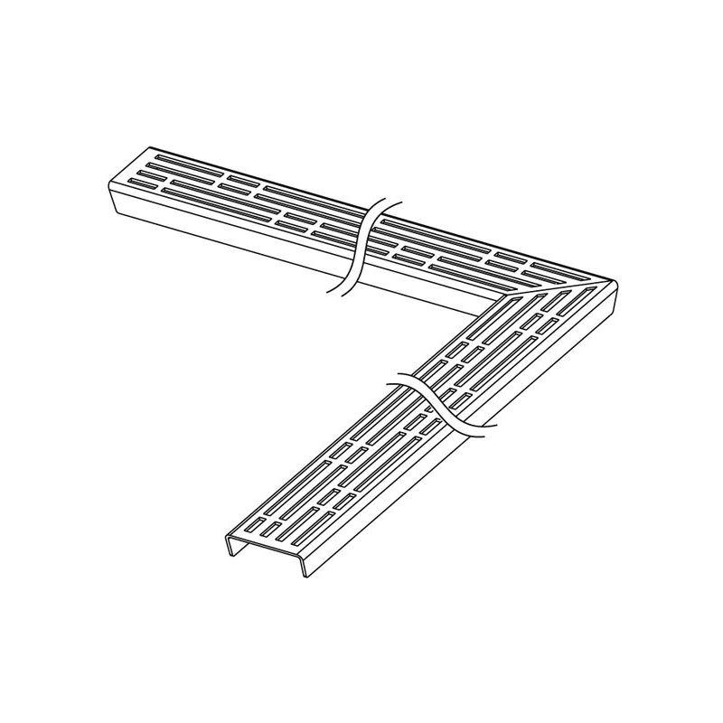 Designer grille TECEdrainline