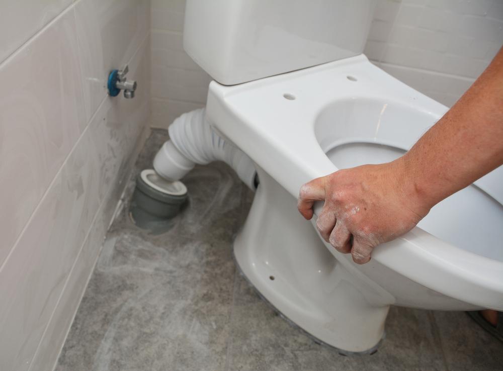 comment installer un wc a poser