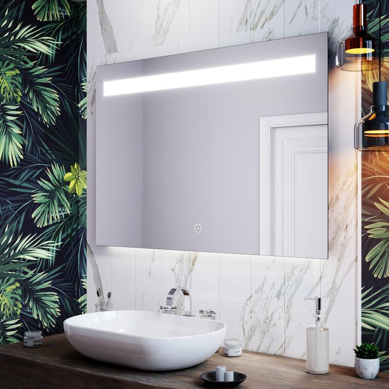Home Furniture Diy Round Led Bathroom Mirror Demister With Lights Belt Anti Fog Ip44 500 X 500mm Mirrors Idealschool Education