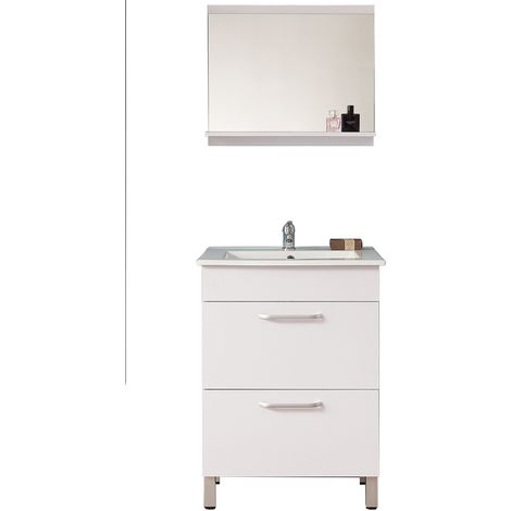 ensemble meuble salle de bain sur pied