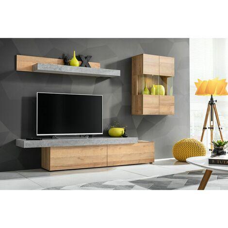 meuble tv mural a prix mini