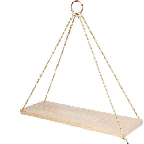 etagere suspendue bois a prix mini