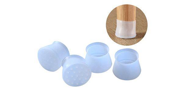 silicone cap embouts protecteurs pour pieds de chaises et meubles