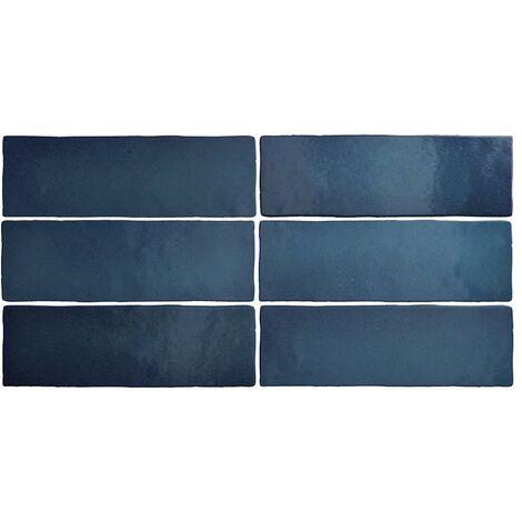carrelage mural bleu a prix mini