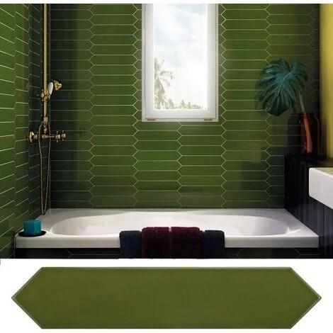 carrelage mural vert a prix mini