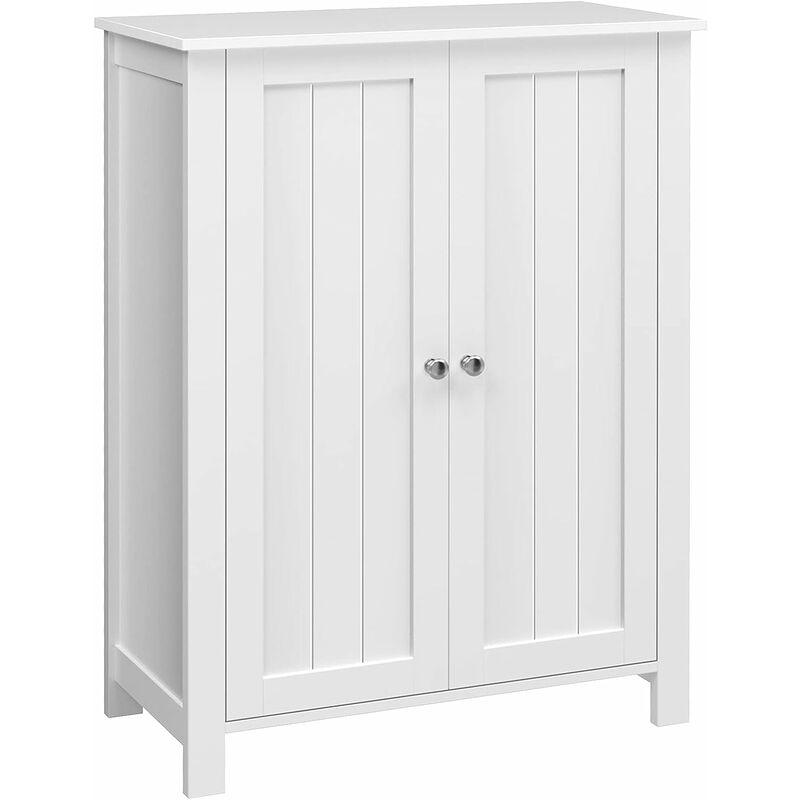 Freestanding Bathroom Cabinet Storage Cupboard Unit with 2