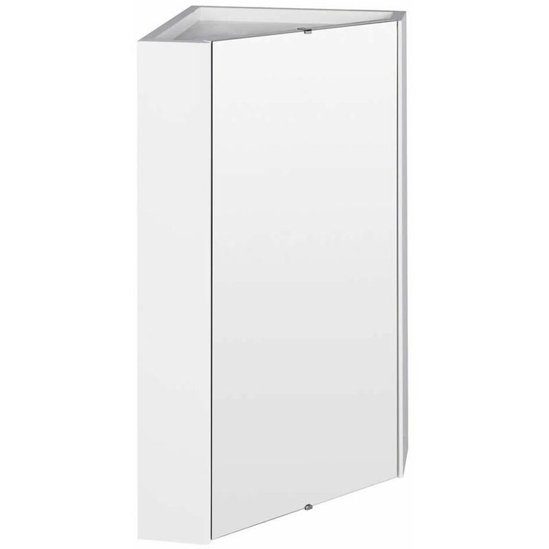 Hudson Reed Armoire Miroir D Angle Pour Salle De Bain 55 6 X 45 9 Cm Lq059