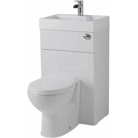 Hudson Reed Toilette Wc Avec Lave Main Integre Design Moderne Minimaliste Prc145cb C1