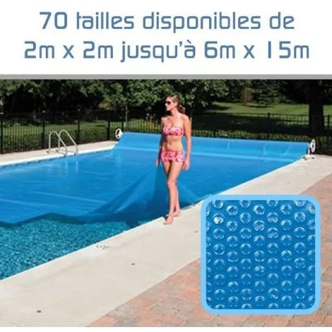 bache a bulles 300 microns pour piscine 2m x 02m linxor
