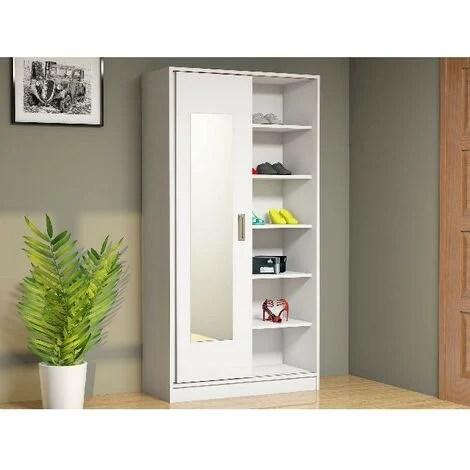 meuble d entree white armoire