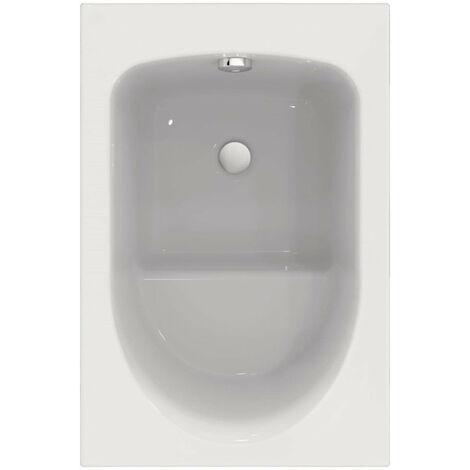 baignoire rectangulaire alterna verseau 3 105 x 70 cm sabot acrylique blanc ref r004501