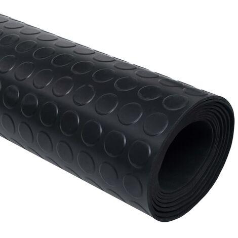 tapis en caoutchouc antiderapant avec points 5 x 1 m