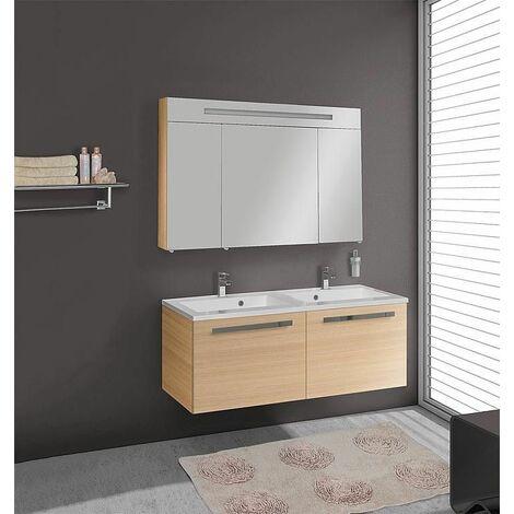 kit meuble salle de bains ebli mab chene clair