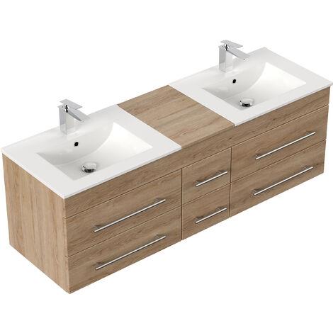 """Looks like """"set mobili bagno ikea ferro battuto"""" has already been sold. Mobile Bagno Roma Xl Rovere Chiaro"""