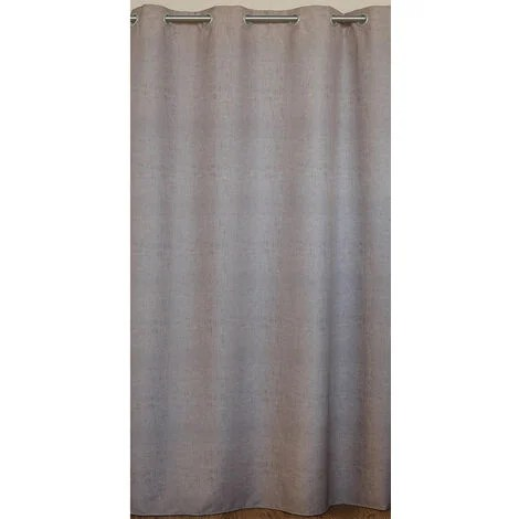 rideau d ameublement a effet chine taupe 150 x 240 cm taupe