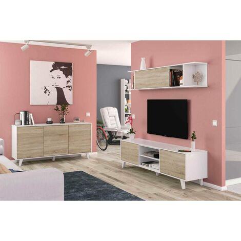 composition de salon zaiken pl meuble tv 41 cm module du haut 24 8 cm x meuble tv 180 cm module du haut 180 cm x meuble tv 51 cm