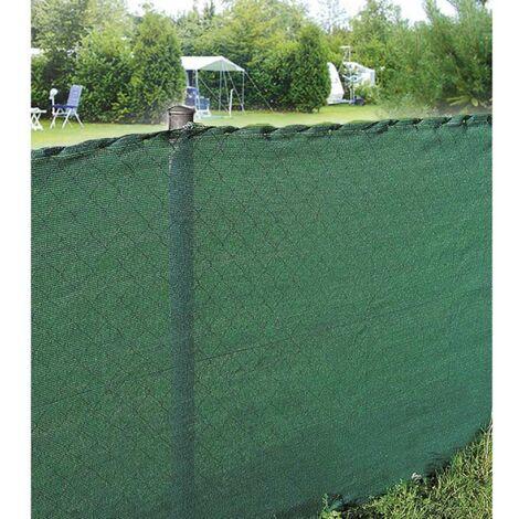 brise vue vert 150 gr m2 10 x 1 50 m