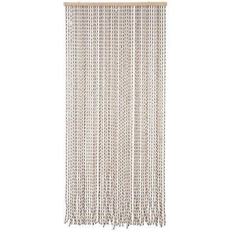 rideau de porte en bois 52 pendants