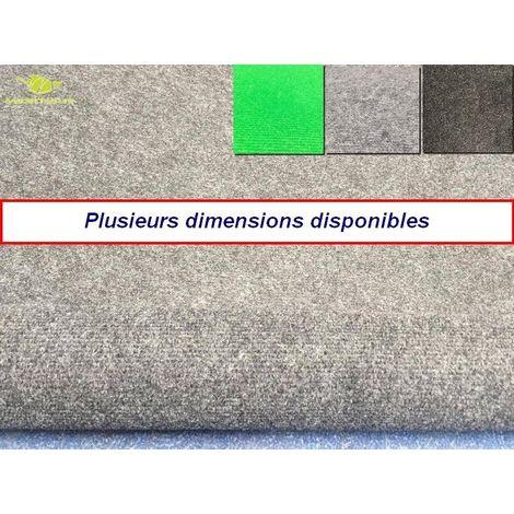 moquette d exterieur gris clair dimensions au choix tapis ideal pour terrasse piscine balcon garage ou salle de jeux etc 80x200cm