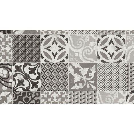 tapis pvc carreaux ciment tapis en pvc differentes tailles vinyle ideal style suedois tapis de passage devant evier 60x40cm