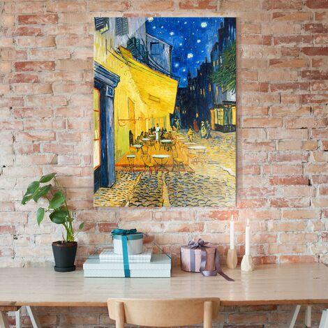 Crea pareti artistiche che non passeranno inosservate con una delle carte da parati di design di questa collezione. Quadro Su Vetro Vincent Van Gogh Terrazza Del Caffe La Sera Place Du Forum Arles Post