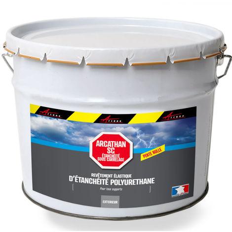 resine d etancheite sous carrelage polyurethane pente nulle arcathan sc arcane industries gris 4 kg