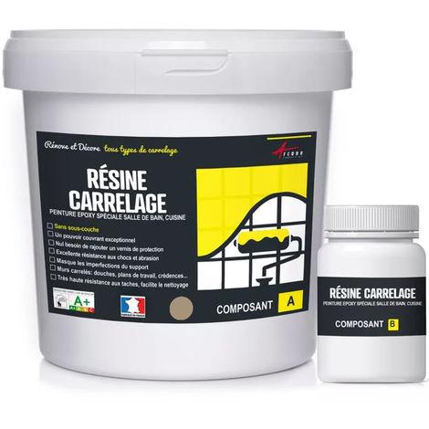 peinture carrelage cuisine salle de bain resine carrelage arcane industries ral 1019 beige gris kit 1 kg jusqu a 10 m pour 2 couches