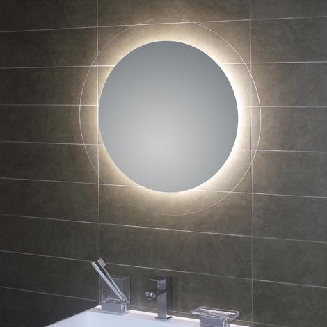 Miroir Rond Avec Retro Eclairage Led Interieur Geometrie Koh I Noor L45938