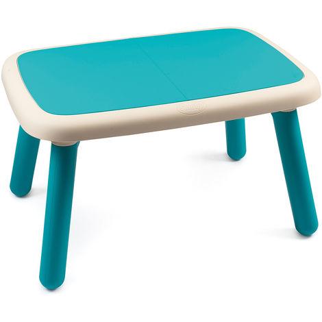 table pour enfant plastique bleu smoby