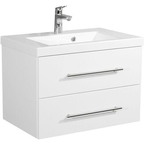 meuble de salle de bain infinity 700 blanc brillant