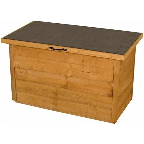 forest wooden garden storage chest outdoor patio storage box