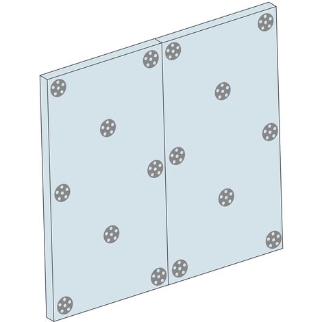 accessoire douche a l italienne rondelles de fixation pour panneaux a carreler 20