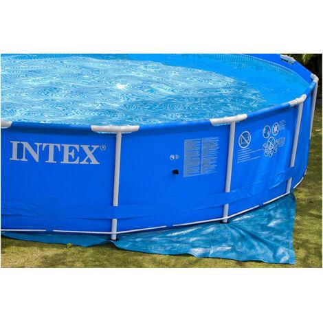 tapis de sol pour piscine hors sol intex 2 44 a 4 57 m