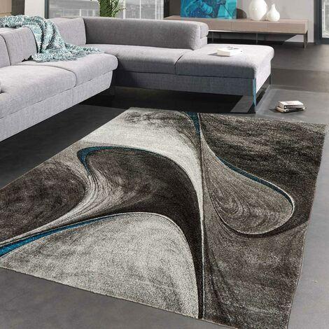 60x110 un amour de tapis tapis salon moderne design poils ras rectangulaire petit tapis d entree interieur tapis entree gris noir bleu