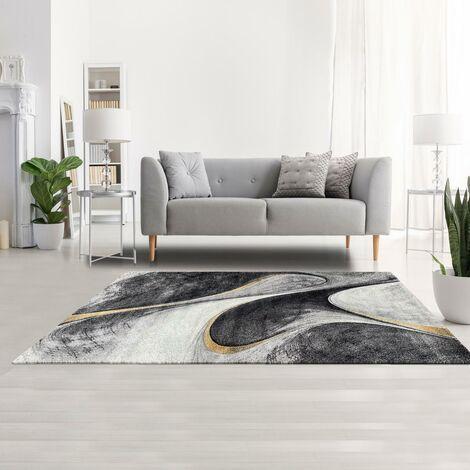 60x110 un amour de tapis tapis salon moderne design poils ras rectangulaire petit tapis d entree interieur tapis entree jaune gris noir