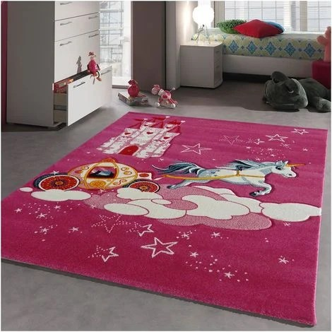 80x150 un amour de tapis tapis enfant tapis chambre bebe fille garcon ado tapis chambre enfant moderne design poils ras turquoise petit