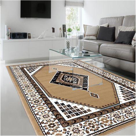 tapis moderne pour salon oriental