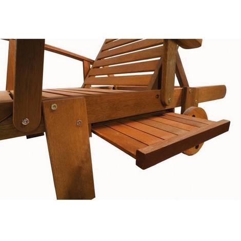 bain de soleil pliant en bois exotique tokyo maple marron clair table basse en bois
