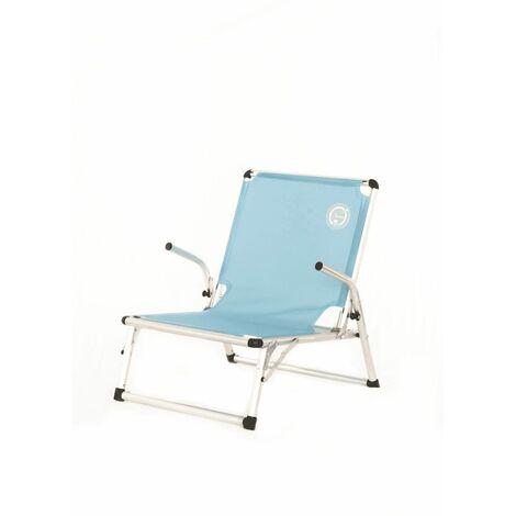 chaise de plage luxe structure pliable et confortable